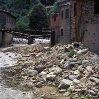 Destruction de l'usine de Riabel: vu de l'Arnette