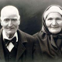 photographie de Joseph Poursines et de sa femme