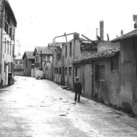 Rue de la Vanne, à droite usine Vaissière, à gauche usine Séverac