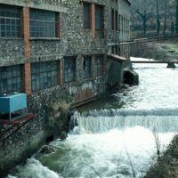 Usine et barrage sur l'Arnette