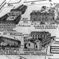 Usines sur le Canal de la Nogarède - Le Redondal (H 1).