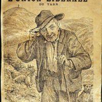 """Première page de l'Almanach annuaire de l'Union Libérale du Tarn représentant """"Le vieux paysan de la montagne"""""""