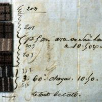 Echantillons de tissus Eugène Guiraud