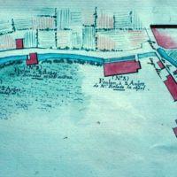 Plan du Canal : partie amont