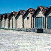 Les sheds de l'usine