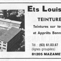 Ets Louis Darmais S.A. Publicité