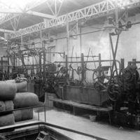 Intérieur, machines et ballots