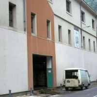 Vue de la route, la nouvelle façade