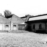 Toits en sheds, bâtiments