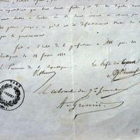 Ordre de la commission mixte : gros plan sur les signatures