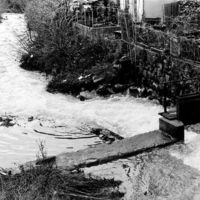 Au pont du Gua, la prise d'eau