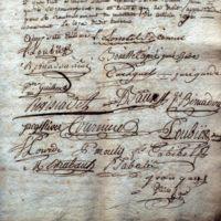 Signatures, jurande des fabricants : vue générale