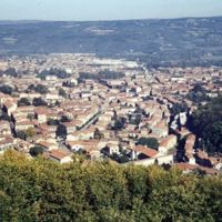 Vues de Mazamet depuis le Plo de la Bise : vue générale de la ville