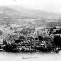 Carte postale : Vue générale de Mazamet avec cheminée de Gau-Bosc