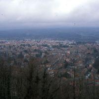 Vues de Mazamet depuis le Plo de la Bise : Mazamet sans téléobjectif