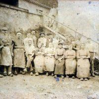 photographie d'ouvriers et d'ouvrières du Peigne d'Or