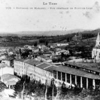 Carte postale : vue générale de Pont-de-Larn