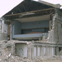 Travaux de démolition de l'Apollo : vu générale