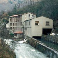 Vue générale de l'usine: de l'amont vers l'aval