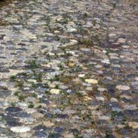 Pavage de l'ancienne route de Carcassonne