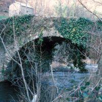 Pont près du moulin de la Resse de Canjelieu