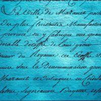 Extrait du Mémoire de Ballainvilliers : un paragraphe