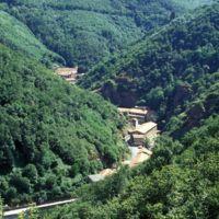 Vues du Plo de la Bise: les 3 usines de Laquière