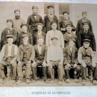 Ouvriers de la Fabrique : photographie entière