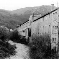 Foulon, vue du pont du Gua vers l'amont