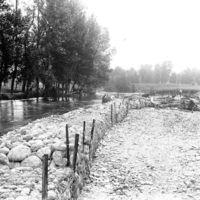 Le Moulin Gau, inondations de 1930
