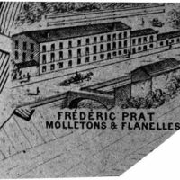 Carte 1896 : Frédéric Prat, molletons et flanelles
