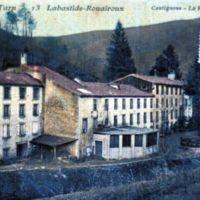 Carte postale : Filature de Cantignous à Labastide