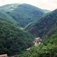 Vues du Plo de la Bise: Laquière et emplacement de l'usine Sabatié