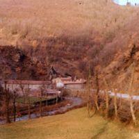 Le hameau, vu de l'amont