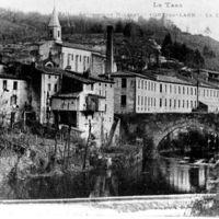 Carte postale: Pont et Usine Cormouls-Houlès