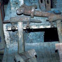 Différents outils du meunier : détails