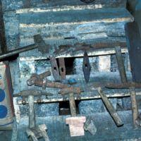 Différents outils du meunier