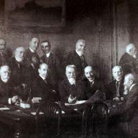 photographie de Xavier Reille et le Comité des Forges