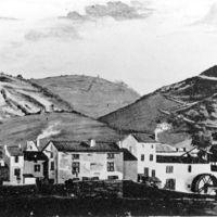 Rue du Moulin en 1800